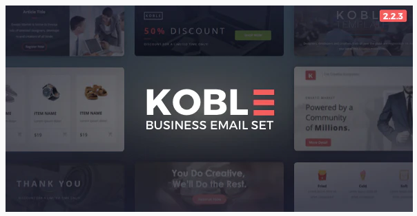 20 Best Selling Email Templates for Newsletter