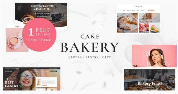 40+ WordPress Themes for Food Blogs
