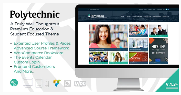 35 Education WordPress Themes for School/Universities Websites