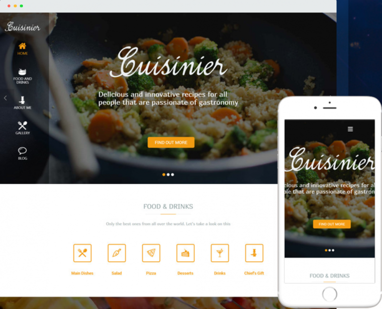 7 Premium WP Themes for Food Blogs